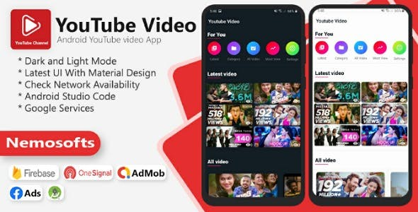 Android YouTube video App