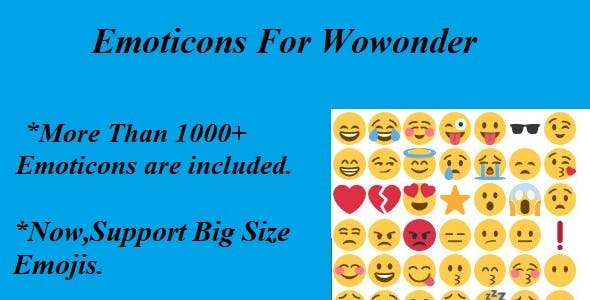 Emoticons For Wowonder