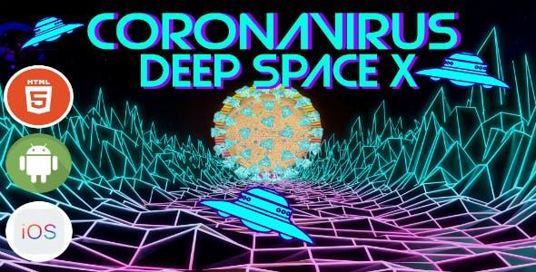 Coronavirus Deep Space X - HTML5 Game - HTML5 Website