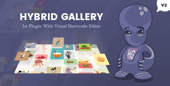 Hybrid Gallery | Visual Gallery Plugin for WordPress - CodeCanyon Item for Sale