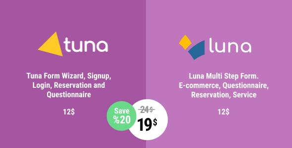 Tuna & Luna Forms Bundle