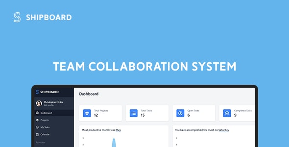 Shipboard - Team Collaboration System - CodeCanyon Item for Sale