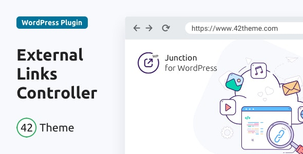 Junction — External Links Controller for WordPress - CodeCanyon Item for Sale