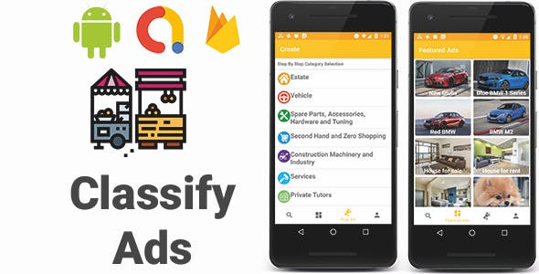 Classify Ads   Full Android Application