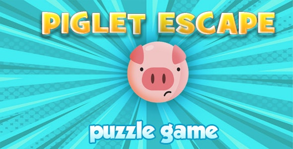 PiGLET ESCAPE. puzzle game. C3. Any platform - CodeCanyon Item for Sale