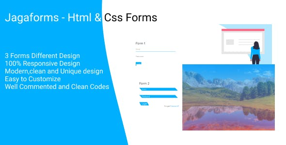 Jagaforms - Html & Css Forms