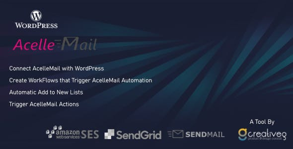 AcelleMail WordPress WorkFlows