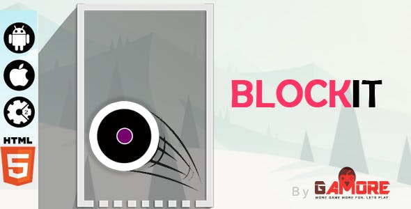 Block It - HTML5 Game - Construct2 & Construct3 CAPX