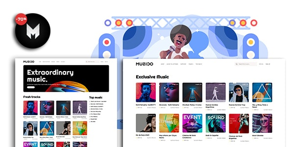 MUSICO - Premium Music Download System with Website - CodeCanyon Item for Sale