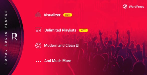 Royal Audio Player Wordpress Plugin