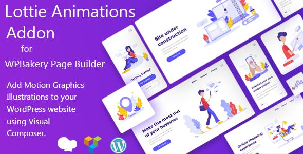 Lottie Animations Addon for WPBakery Page Builder (Formerly Visual Composer)