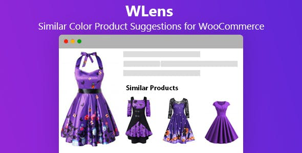 WLens - Similar Color Product Suggestions for WooCommerce