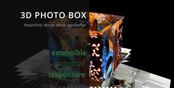 3D Photo Box - Advanced Media Gallery