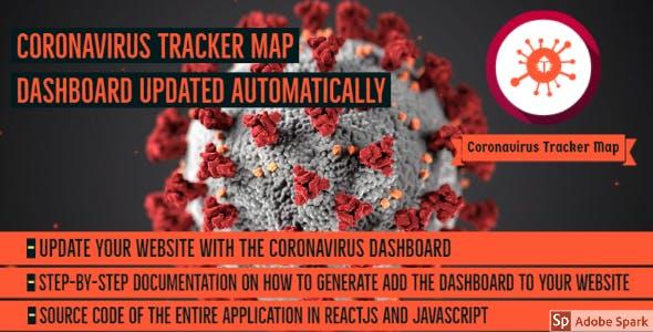 Coronavirus Tracker Map Dashboard Live Update - Covid19