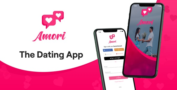 Amori: The Dating APP - CodeCanyon Item for Sale