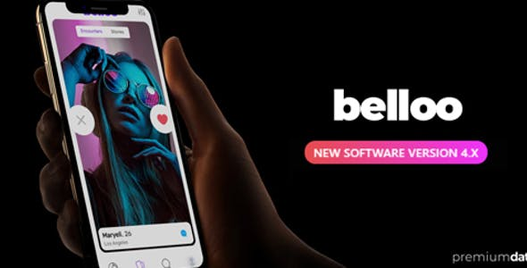 Belloo - Complete Premium Dating Software