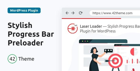Laser Loader — Stylish Progress Bar Preloader - CodeCanyon Item for Sale