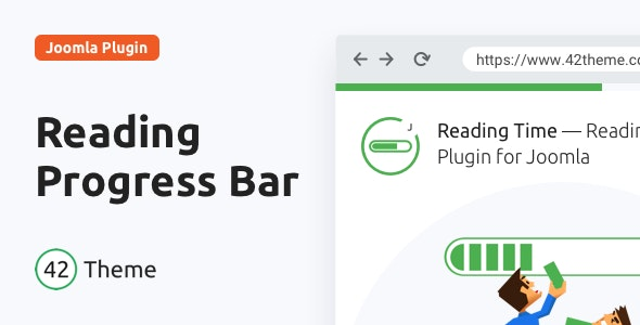 Reading Time — Reading Progress Bar for Joomla - CodeCanyon Item for Sale