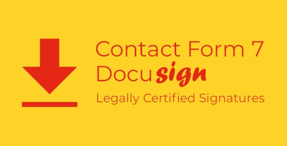 Contact Form 7 Docusign Envelope Creator for WordPress - CodeCanyon Item for Sale
