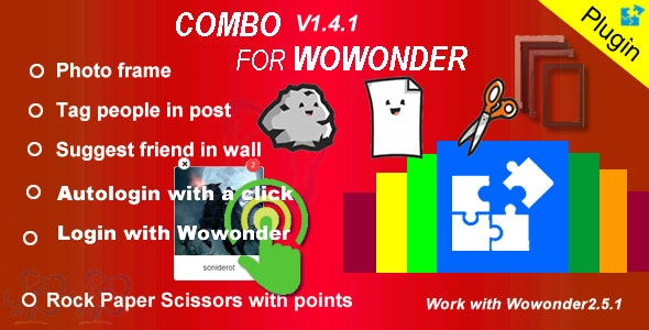 Plugin Combo For Wowonder - CodeCanyon Item for Sale