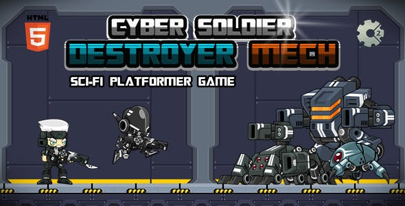Cyber Soldier Destroyer Mech