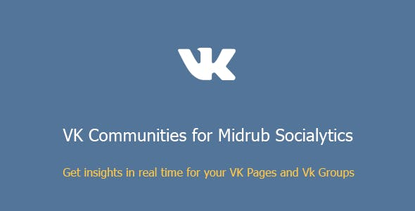 VK Communities for Midrub Socialytics