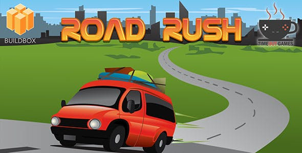 Road Rush (Android) - Full Buildbox Game