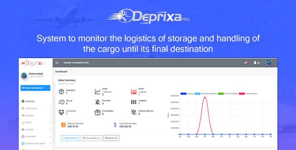 Courier Deprixa Pro - Courier System v3.3.0.3 - CodeCanyon Item for Sale