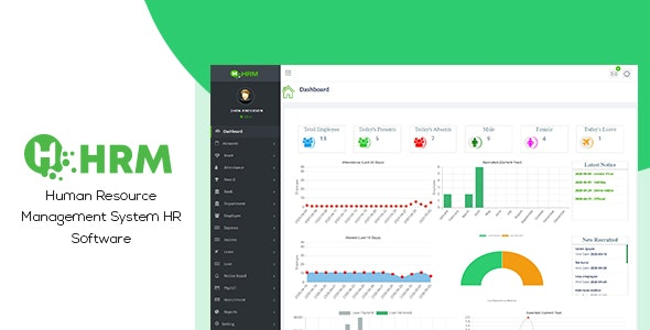 HR Manager - Human Resource Management System HR Software (HRMS) - CodeCanyon Item for Sale