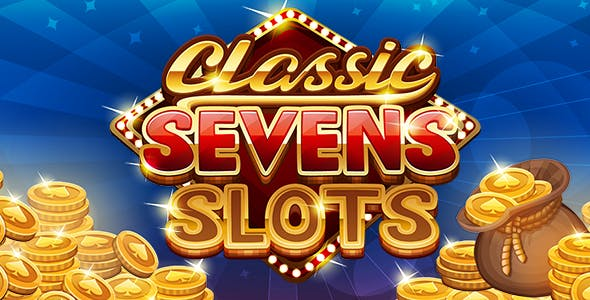 Classic Seven Slots Unity3d Game