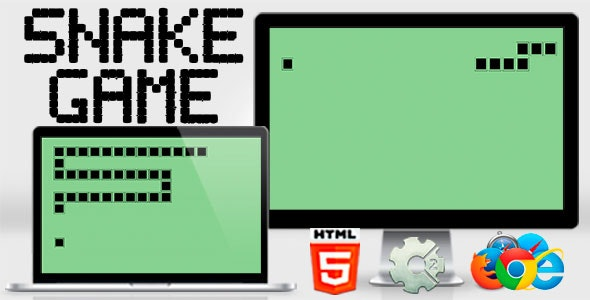 Snake Game Classic - HTML5 .capx Included - CodeCanyon Item for Sale