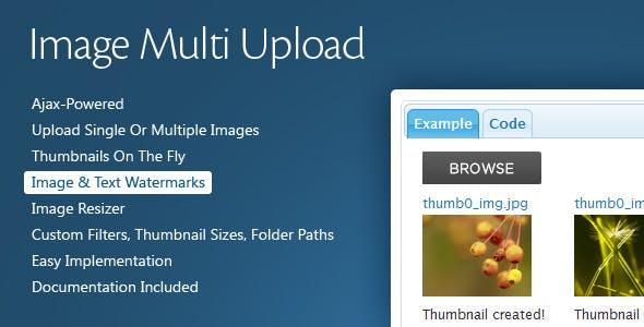 Image Multi Upload        Nulled