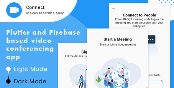 Connect - Free Android & iOS Video conferencing App - CodeCanyon Item for Sale