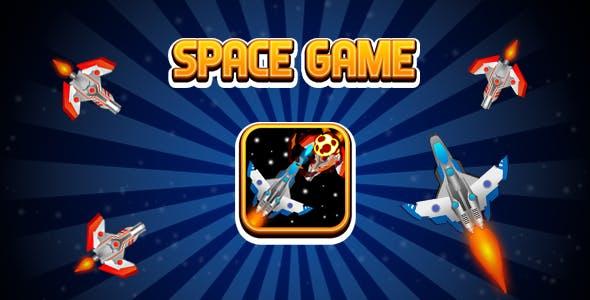 Space Endless Game (CAPX   HTML5   Cordova) Mini Game