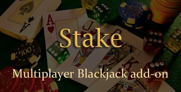 Multiplayer Blackjack Add-on for Stake Casino Gaming Platform