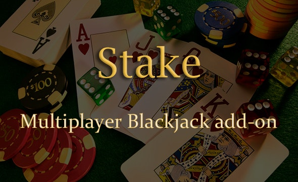 Multiplayer Blackjack Add-on for Stake Casino Gaming Platform - CodeCanyon Item for Sale