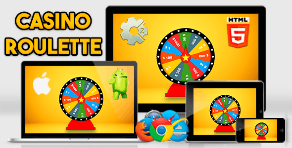 Casino Roulette - HTML5 Desktop and Mobile .capx
