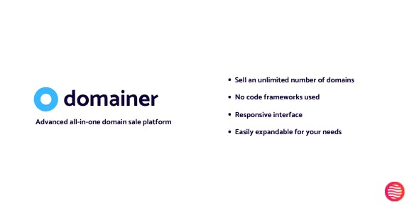 Domainer | Advanced domain sale platform