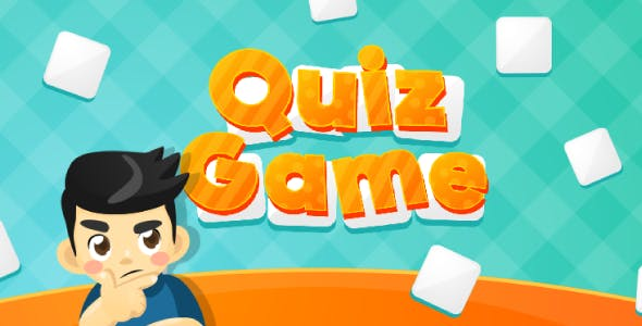 Quiz Game (Word) - HTML5 Trivia Game (Phaser 3)