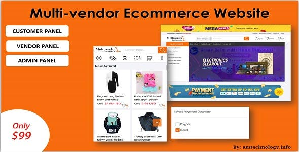 Multi_vendor Ecommerce Website in ASP.NET