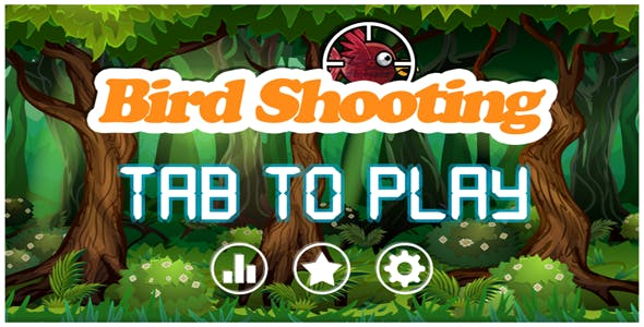 Unity Bird Shooting Game Template