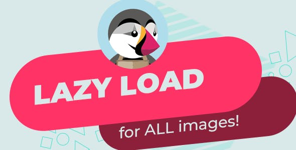 Lazy load for ALL images - Prestashop module