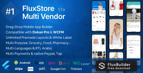Fluxstore Multi Vendor - Flutter E-commerce Full App