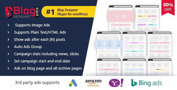 Blog Designer Ads