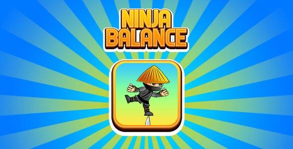 Ninja Balance Game (CAPX | HTML5 | Cordova) Mini Game