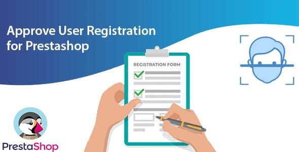 Approve User Registration for Prestashop