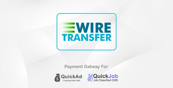 Offline Payment Plugin For Quickad & QuickJob & QuickQR