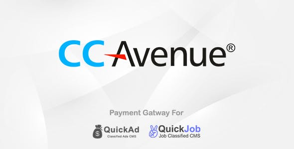 CCAvenue Payment Gateway Plugin for Quickad & QuickJob