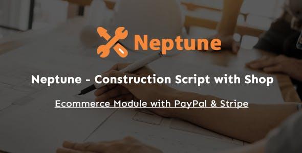 Neptune - Construction Script with Shop