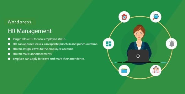 WordPress HR Management System plugin